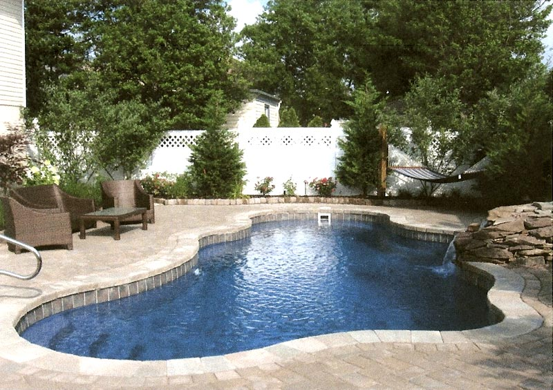 Viking Pools Of Redding Custom Tile For Swimming Pools