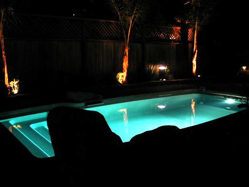 Viking pools of redding swimming pool lighting from - How to install a swimming pool light ...