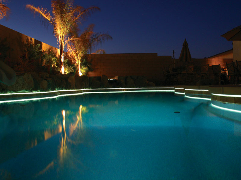 Viking Pools Of Redding Swimming Pool Lighting From