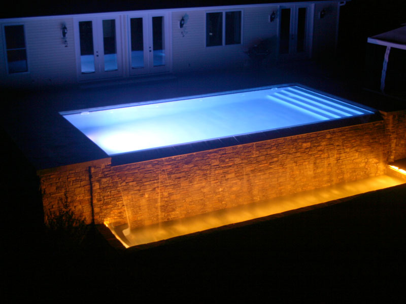 viking pools of redding swimming pool lighting from. Black Bedroom Furniture Sets. Home Design Ideas