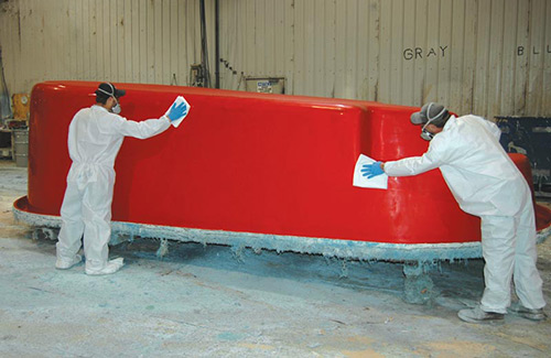 Prepare The Mold So That The Pool Easily Separates From The Mold To Give  The Pool A Better Quality Finish.
